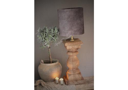 LifestyleByLeonie Baluster lampvoet 'Naturel'