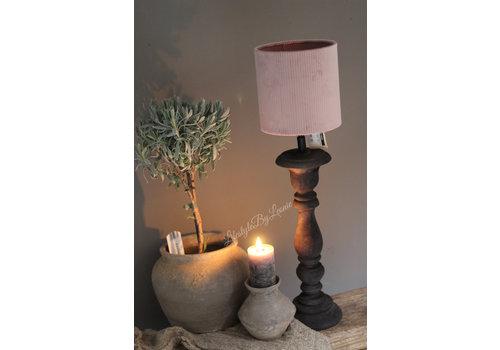 LifestyleByLeonie Smalle lampvoet Antraciet 35 cm