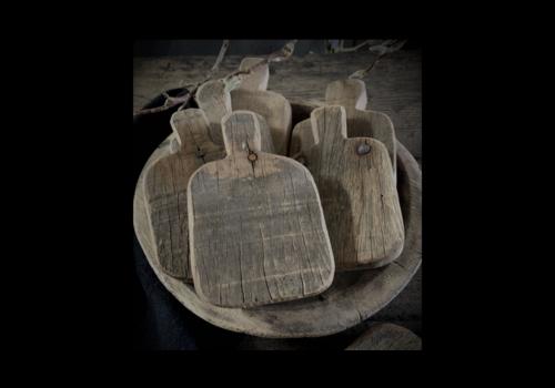 LifestyleByLeonie Houten amuse plankje / onderzetter 'Old wood'