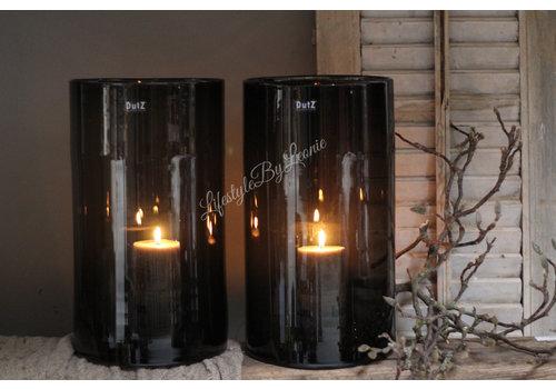 Dutz DUTZ cilinder windlicht black 40 cm