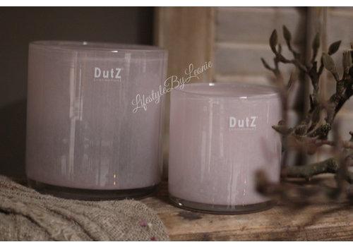 Dutz DUTZ cilinder windlicht Old rose 11 cm