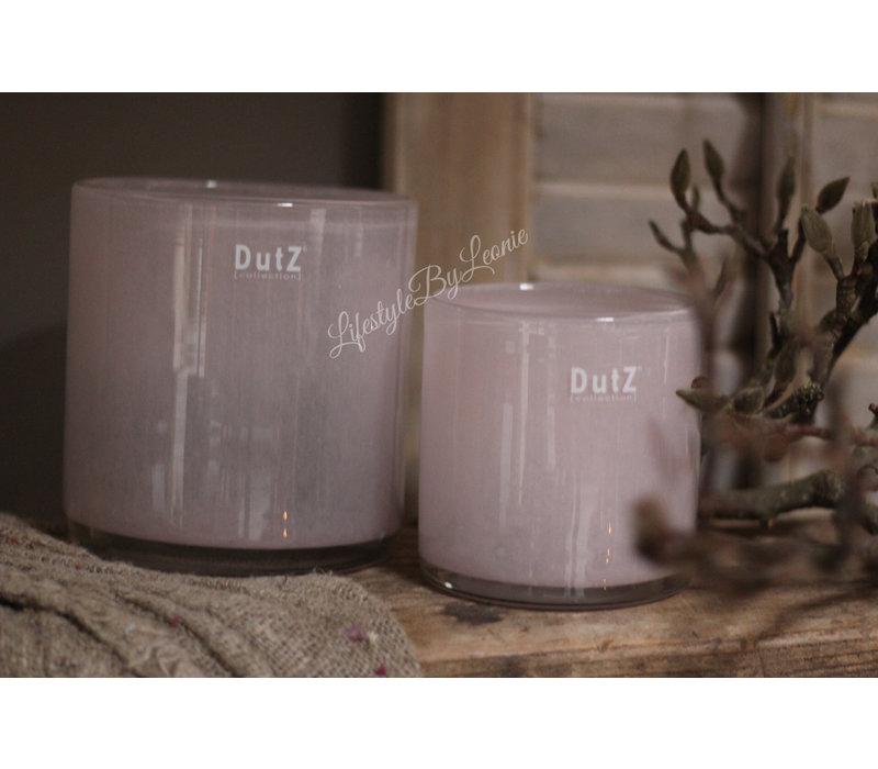DUTZ cilinder windlicht Old rose 11 cm