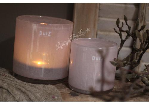 Dutz DUTZ cilinder windlicht Old rose 14cm