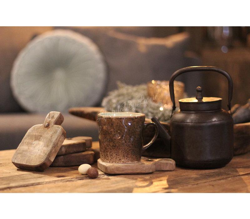 Houten amuseplankje / onderzetter Old wood