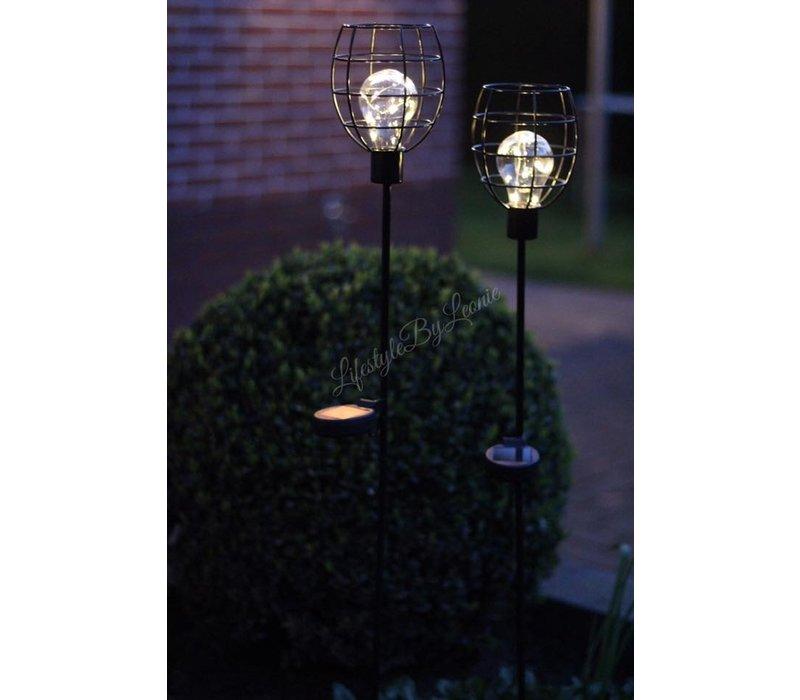 Solar draadlamp op prikker