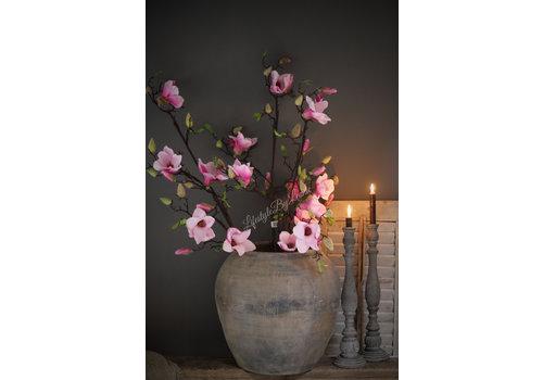 LifestyleByLeonie Zijden magnolia tak 'Pink flower'|115cm