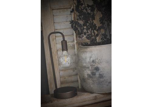 LifestyleByLeonie Sobere metalen led lamp|35cm