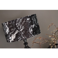 Velvet cilinder lampenkap Feather 35 cm