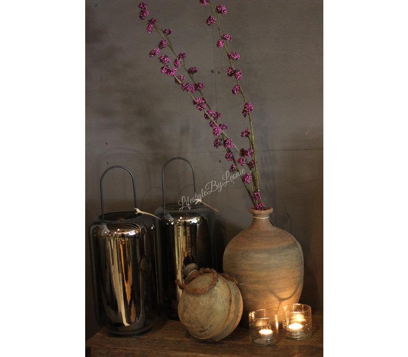 Zijden paarse berries tak Callicarpa