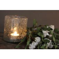 Brynxz glazen windlicht steenslag helder 11 cm