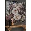 Tuinposter / doek Sobere bloemen 100 cm