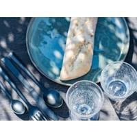 DUTZ wijnglas op voet helder bubbels 13 cm