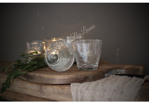 Dutz DUTZ (water) glas helder bubbels 8,5 cm