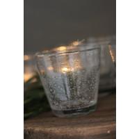 DUTZ (water) glas helder bubbels 8,5 cm