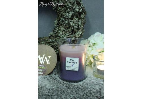 WoodWick WoodWick Wild Berry Smoothie trilogy medium