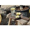 Dutz DUTZ wijnglas op voet helder bubbels 13 cm