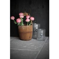Zijden Ranonkel roze 50 cm