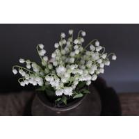 Zijden bosje Lily of the valley 34 cm