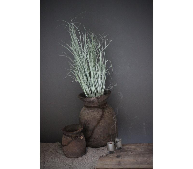 Namaak Beregras in pot grijs 53 cm