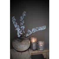 DUTZ cilinder windlicht met bubbels helder 27 cm