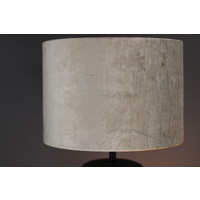 Cilinder lampenkap velvet gemstone Sand 30 cm