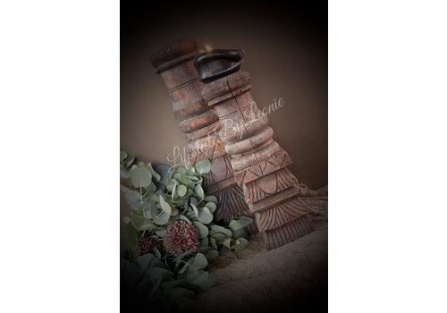 Oud houten ornament 31 cm