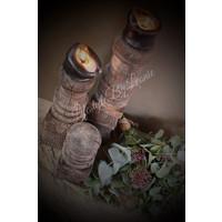 Oud houten ornament 40 cm