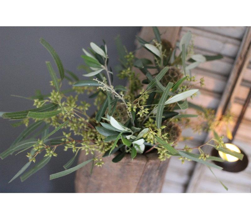 Groen toefje Turkse distel en eucalyptus