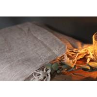 Plaid fleecelook beige 170 cm