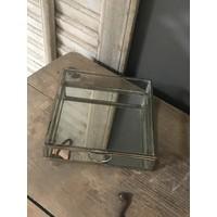 Glazen spiegelbox 15 cm