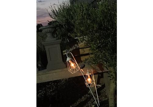 Solar tuinlamp Lantaarn desy White
