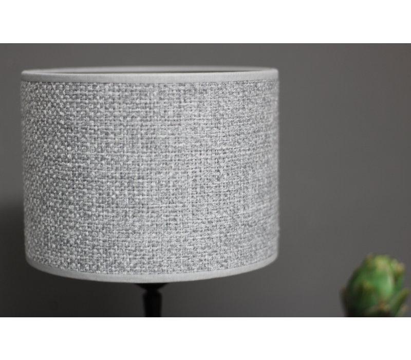 Cilinder lampenkap Lichtgrijs 20 cm