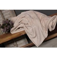 Fleece plaid Soft beige 200 cm
