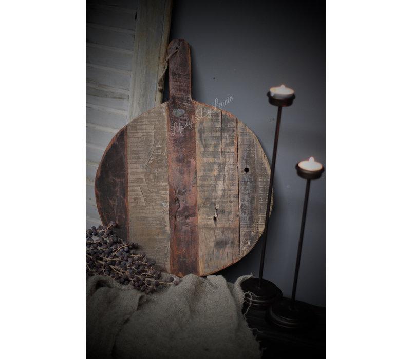 Hoge kandelaar waxinelichtje 30 cm