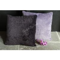 Kussen soft teddy Dark purple 45 cm