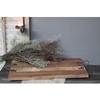 Houten tray met hengsel 50 cm