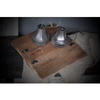 Houten tray met hengsel 30cm