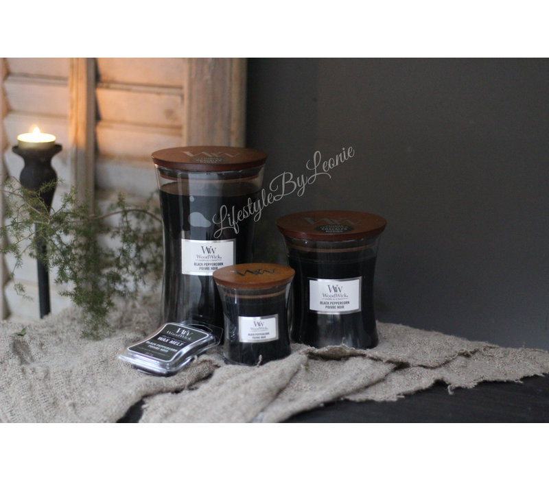 WoodWick Black peppercorn medium