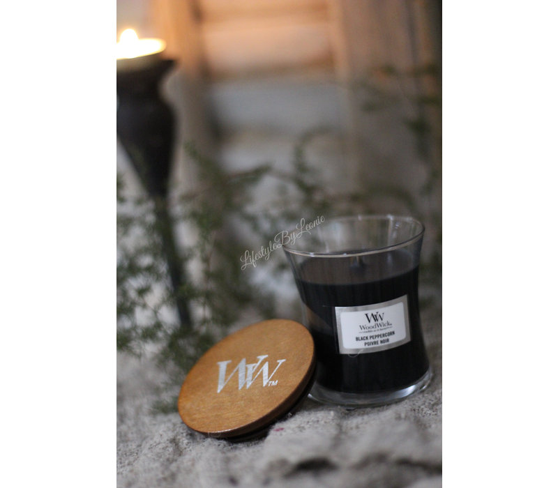 WoodWick Black peppercorn mini