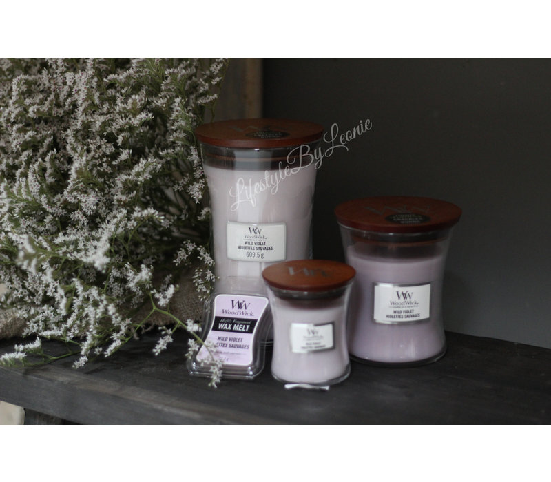 WoodWick Violet large