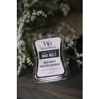 WoodWick Wild Violet wax melt