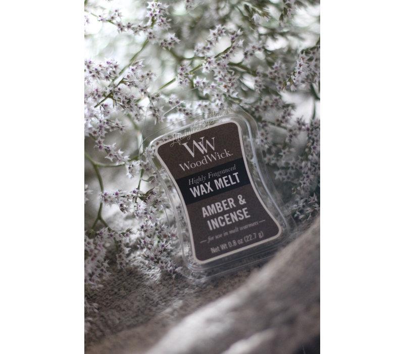 WoodWick Amber & incense waxmelt