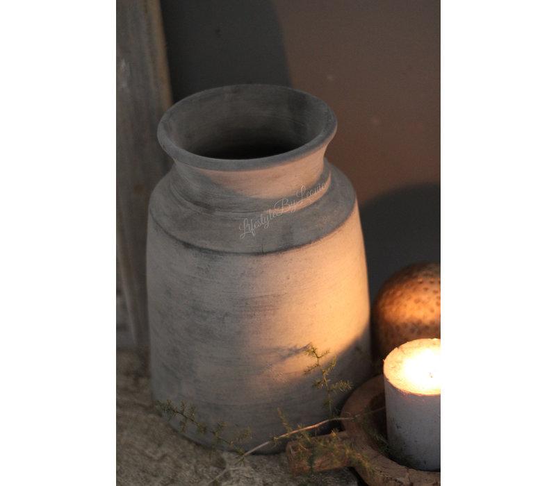 Indisch stenen kruikje Kiki