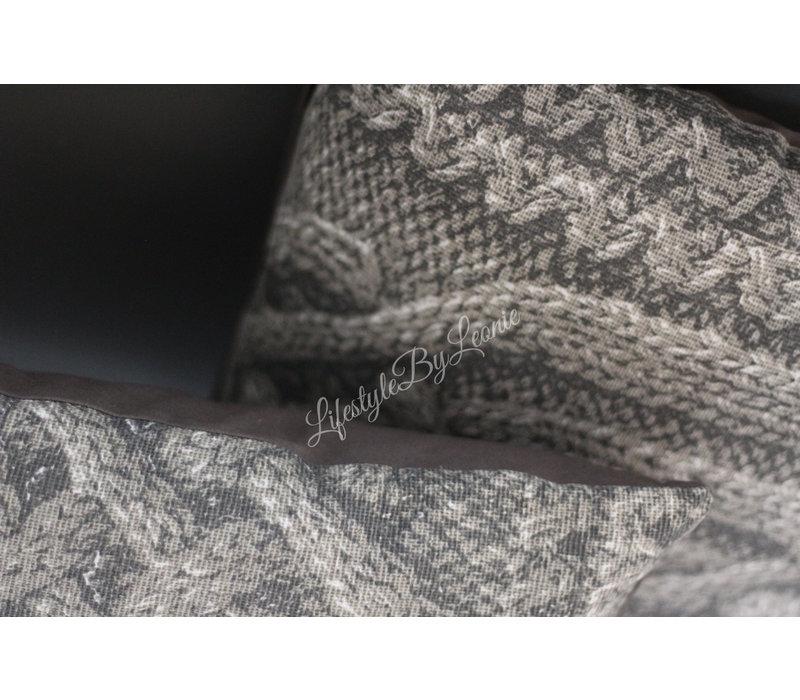 Kussen Big knit 45 cm