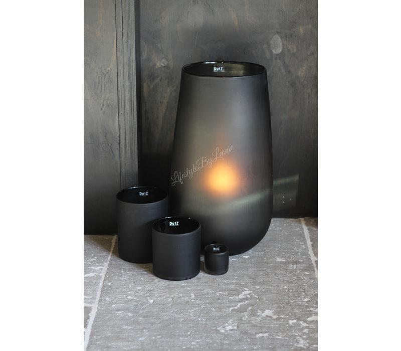 DUTZ grote cilinder windlicht smoke-black 54cm