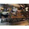 3 delige salontafel Truck wood 125 x 70 x 43 / 60 x 60 x 37 cm