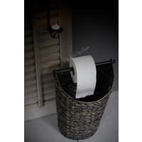Toiletrol houder / mand Dark Nature 40cm
