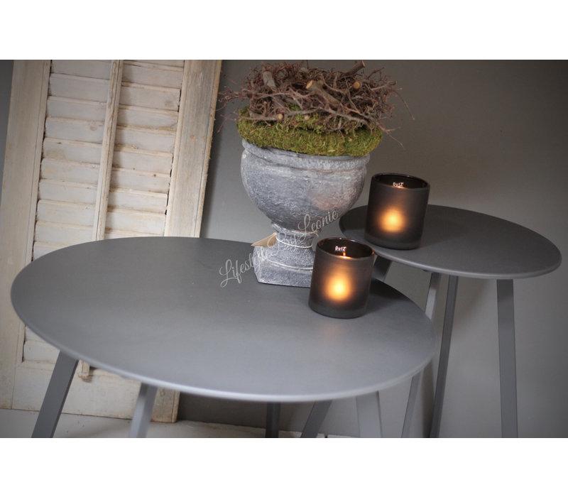 Ronde (buiten) tafel Antraciet 70 cm