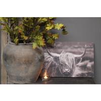 Houten wandpaneel Hooglander 58 cm