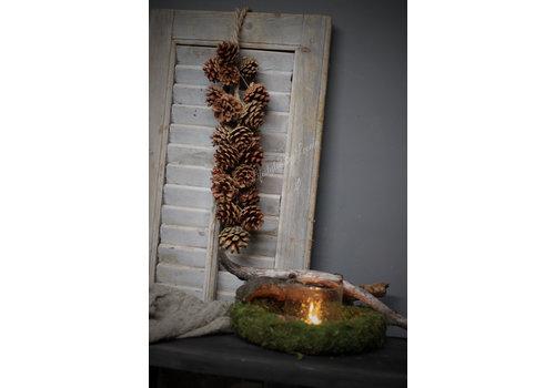 Dennenappel guirlande hanger 55 cm